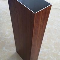 奉化厚壁铝方管 木纹铝方管现货销售