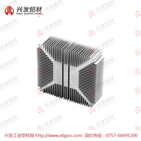 6063T6铝型材散热器定制