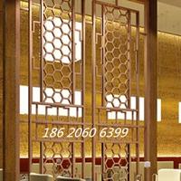 &#8203酒店不锈钢窗花屏风-公路铝合金窗花护栏