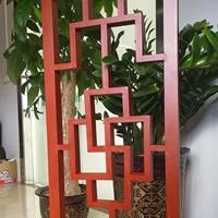 供应仿古木纹铝窗花氟碳四方管烧焊窗花