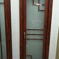 钢化玻璃厕所门,平开门,单开门