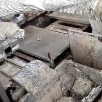 定制重熔用铝锭刮渣机器人