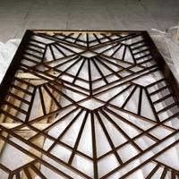 合金铝窗花-木纹铝窗花价格-铝挂落厂家