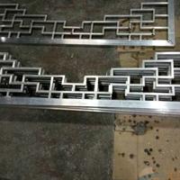 铝合金挂落 仿木门楣装饰挂落定制生产厂家