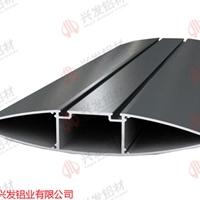 兴发铝业厂家直销铝合金电动百叶铝型材