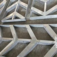 大型材铝方管烧焊铝合金窗花