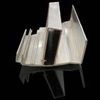 郑州生产加工橱柜拉手铝型材