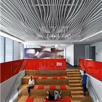 贵州安顺图书馆标致弧形铝方通装饰