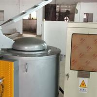 浙江厂家直销坩埚熔铝炉 100KG小型熔铝炉
